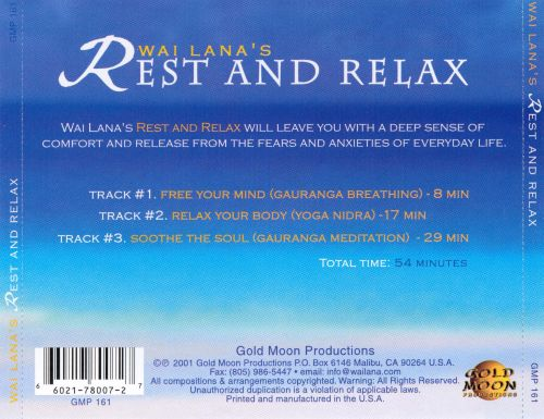 Wai Lana's Rest and Relax