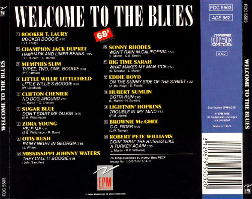 Welcome to the Blues, Vol. 1