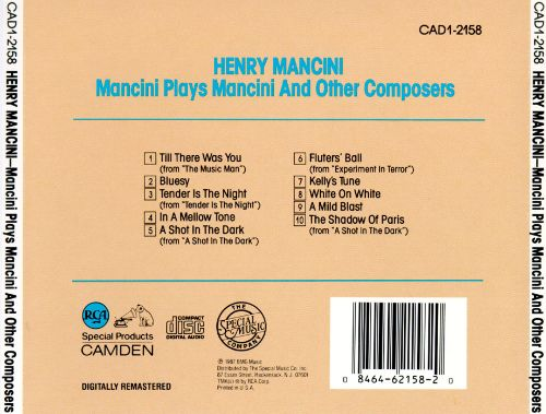 Plays Mancini & Other Composers [Special Music]