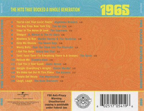 The Classic Sixties Collection: 1965