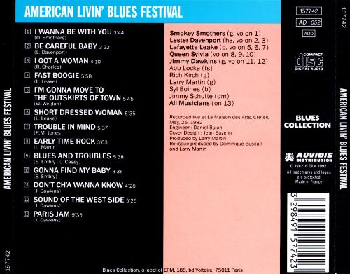 American Living Blues Festival 1982