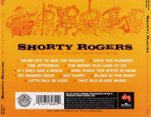 The Wizard of Oz and Other Harold Arlen Songs