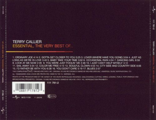 Essential: The Very Best of Terry Callier