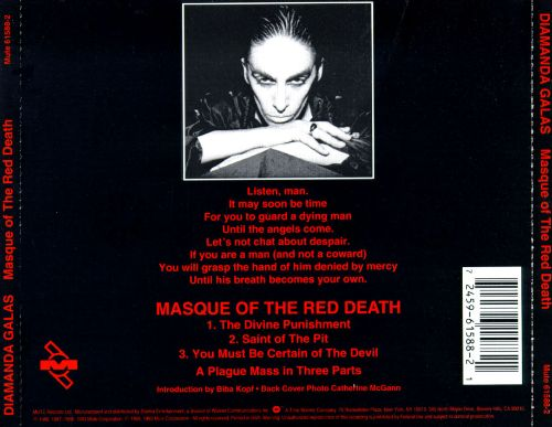 Masque of the Red Death Trilogy (You Must Be Certain of the Devil)