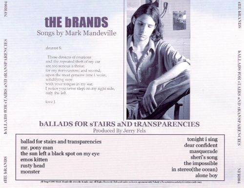Ballads for Stairs and Transparencies