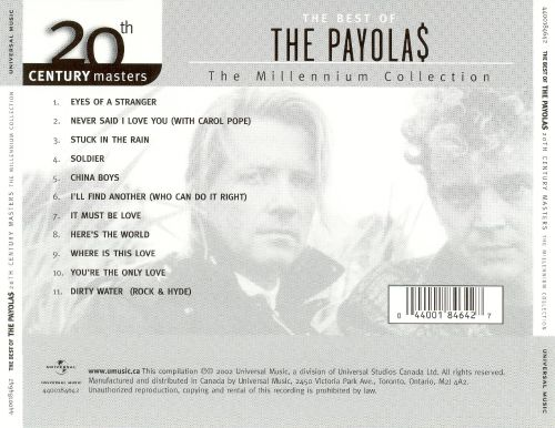20th Century Masters - The Millennium Collection: The Best of the Payolas