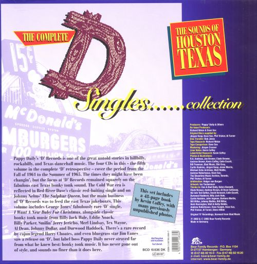 The Complete D Singles Collection, Vol. 5
