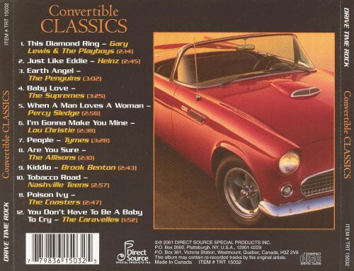 Drive Time Rock: Convertible Classics