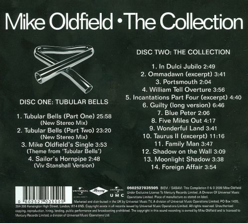 Mike Oldfield: The Collection