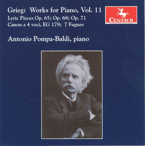 Grieg: Works for Piano, Vol. 11
