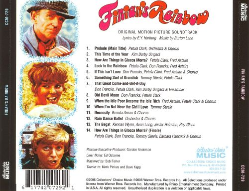 Finian's Rainbow [Original Motion Picture Soundtrack]