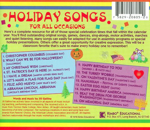 Holiday Songs for All Occasions