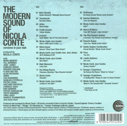 The Modern Sounds of Nicola Conte: Versions in Jazz-Dub