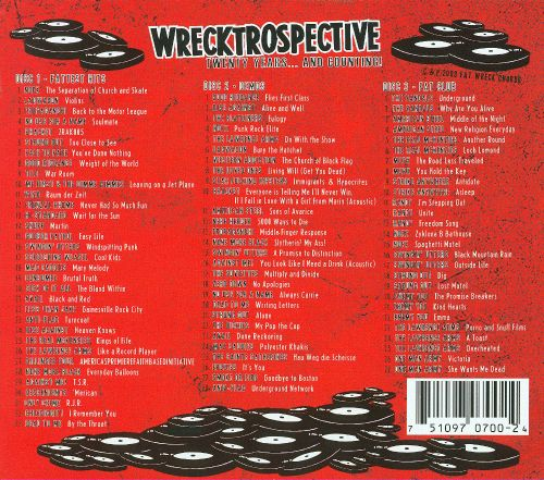 Wrecktrospective: Twenty Years... And Counting!