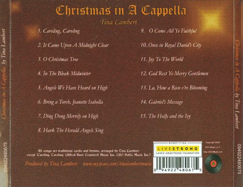 Christmas In A Cappella