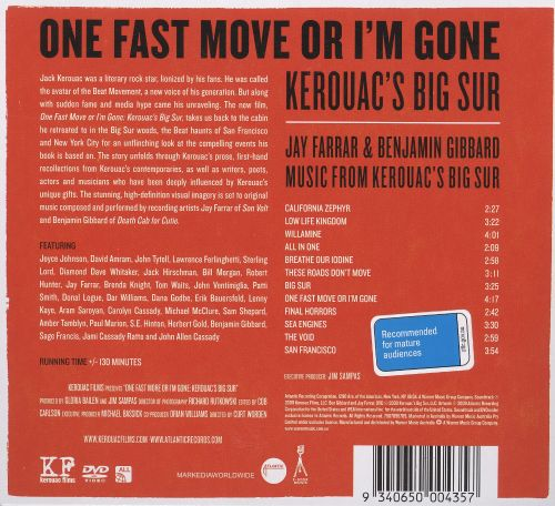 One Fast Move or I'm Gone: Kerouac's Big Sur