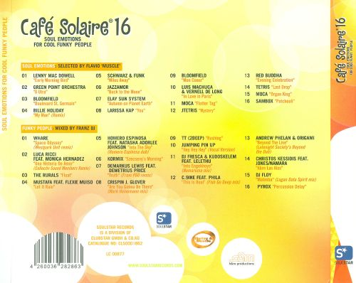 Café Solaire 16: Soul Emotions For Cool Funky People