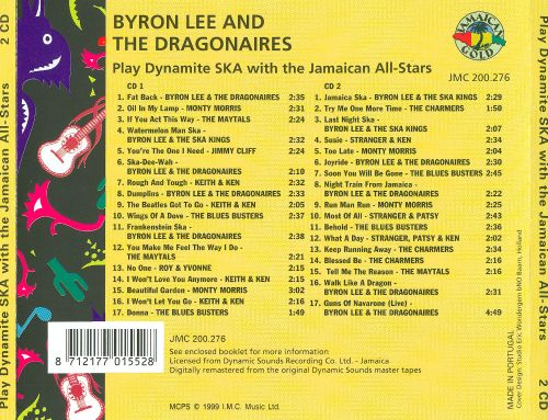 Play Dynamite Ska With The Jamaican All-Stars