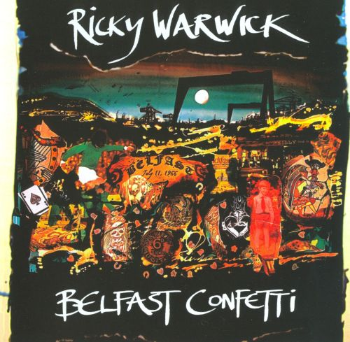 belfast confetti Suddenly as the riot squad moved in, it was raining exclamation marks, nuts, bolts, nails, car keys a fount of broken type and the explosion itself - an asterisk on the map.