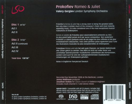 Sergey Prokofiev: Romeo and Juliet