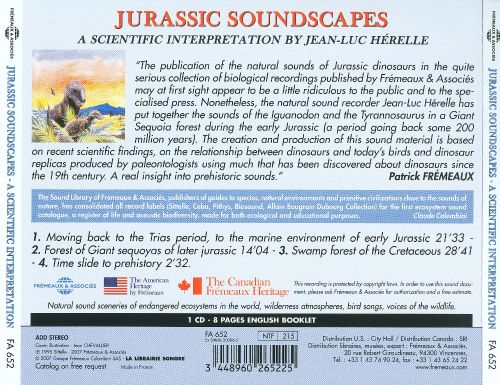Jurassic Soundscapes: A Scientific Interpretation