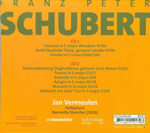 Schubert: Works for Fortepiano, Vol. 5