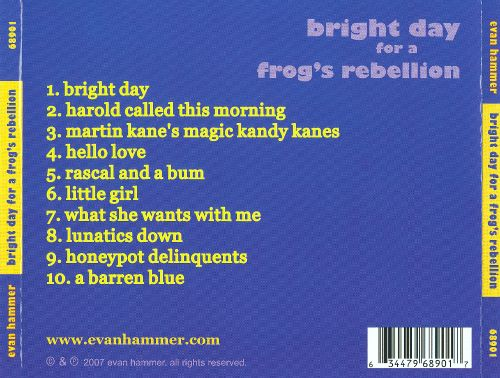 Bright Day for a Frog's Rebellion