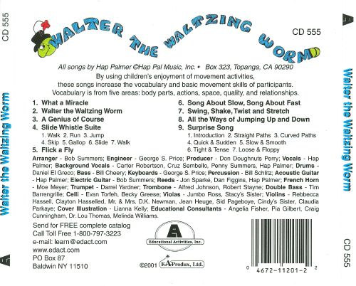 worm songs for preschoolers walter the waltzing worm songs to enhance the movement 553