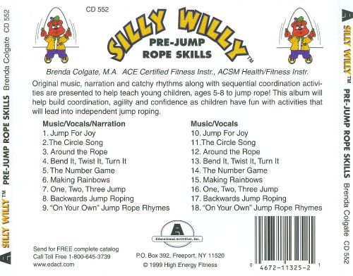 Silly Willy: Pre-Jump Rope Skills