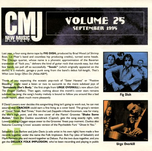 Various - CMJ New Music Volume 64 December 1998