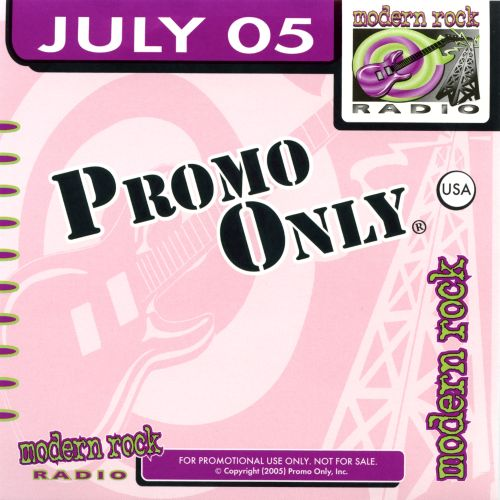 Promo Only: Modern Rock (July 2005)