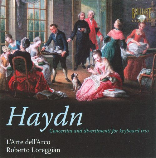 Haydn: Concertini and divertimenti for keyboard trio