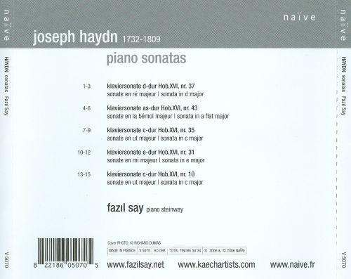 Fazil Say Plays Haydn