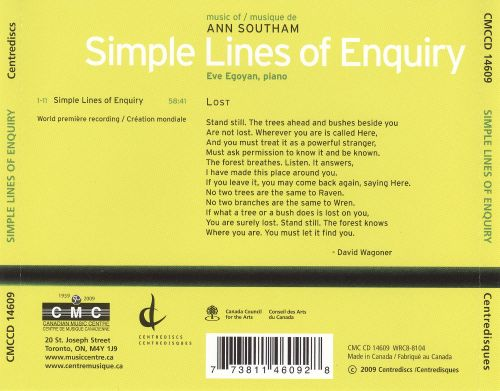 Simple Lines of Enquiry