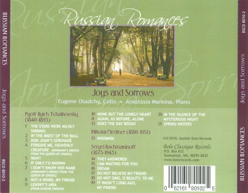 Russian Romances: Joys and Sorrows