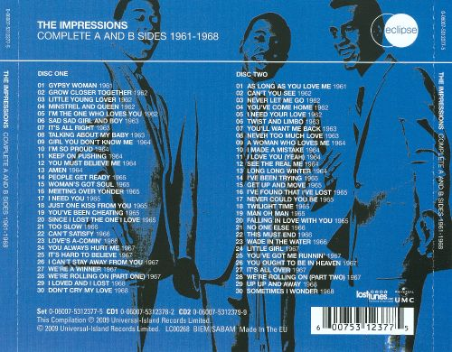The  Complete A- and B-Sides 1961-1968