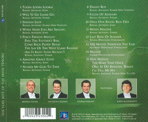 The Very Best of the Irish Tenors (1999-2002)