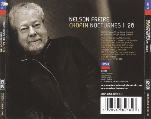 Nelson Freire - Chopin: The Nocturnes