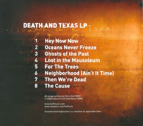 Death And Texas LP