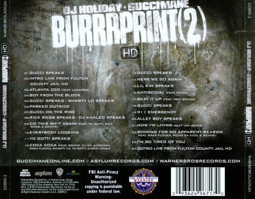 The Burrrprint 2 HD
