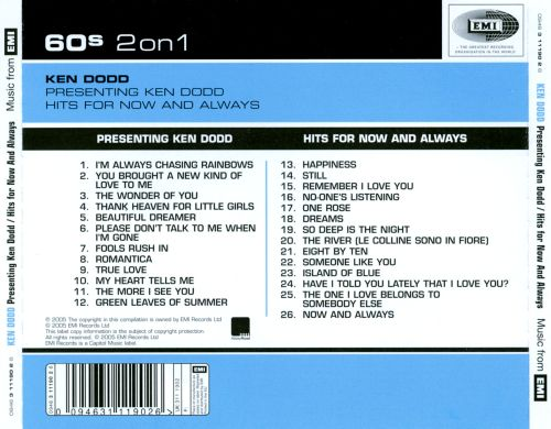Presenting Ken Dodd/Hits For Now and Always