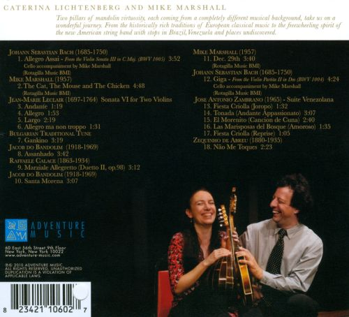 Mike Marshall and Caterina Litchenberg