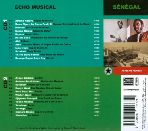 African Pearls: Sénégal Écho Musical