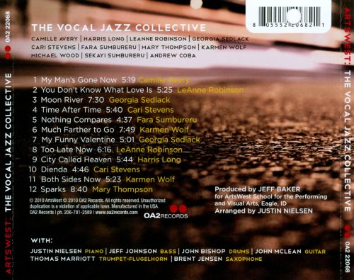 Artswest: The Vocal Jazz Collective
