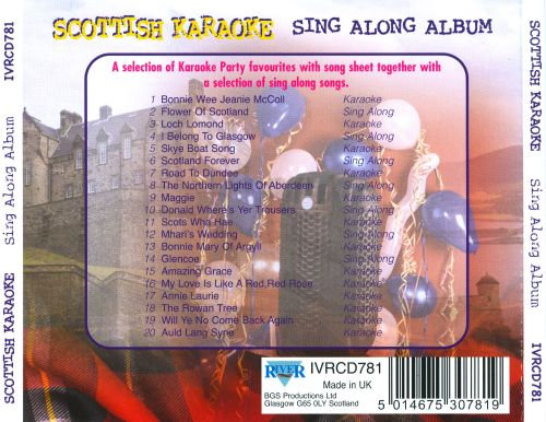 Karaoke: Scottish Sing Along Album