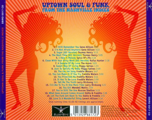 Uptown Soul & Funk from the Nashville Indies