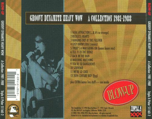 Groovy Dynamite Heavy Wow: A Collection 1981-1988