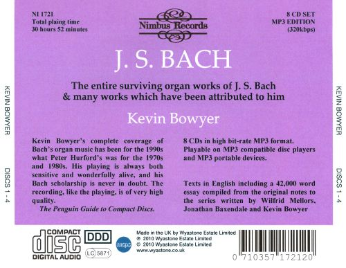 J.S. Bach: The Works for Organ