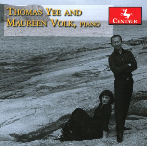 Thomas Yee and Maureen Volk, piano