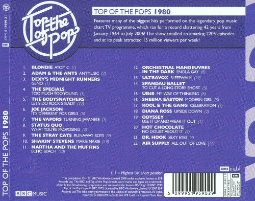 Top of the Pops 1980